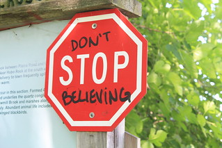 don't stop believing | by katymatic