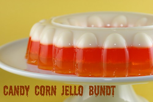 Candy Corn Jello Bundt - I Like Big Bundts | by Food Librarian