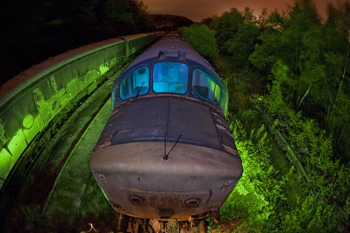 One Ugly Train. | by night photographer