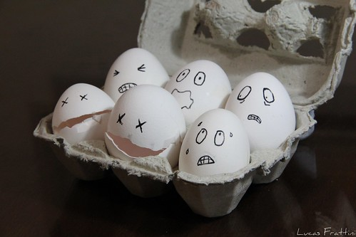 Funny eggs | by Lucas Frattini López