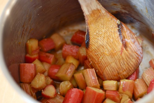 Cooking rhubarb | by Let Her Bake Cake