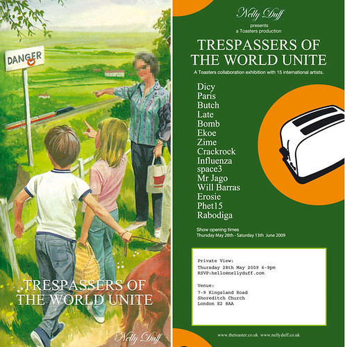 Trespassers Of The World Unite May 28th | by The Toaster