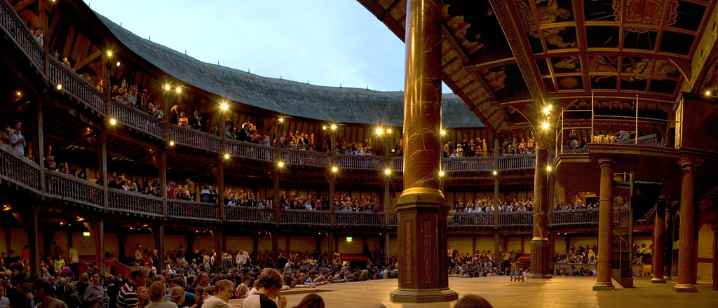The Globe Theatre à Londres - Photo de Jens Naehler