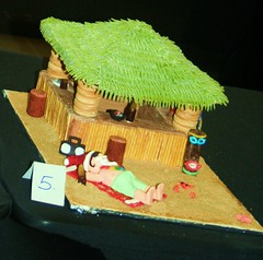 Gingerbread House Tiki Hut I Finally Got A Pic Of My