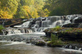 The upper falls at Burgess State Park | by the waterfallhunter