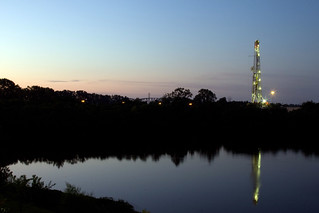 Natural Gas Rig Sunrise | by danielfoster437