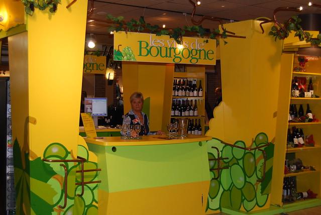 luxemburg oktober 2009, wijnbeurs in  Belle Etoille
