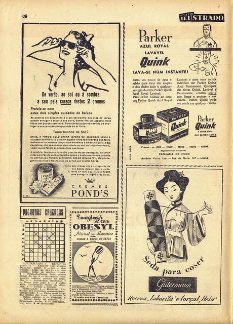 Século Ilustrado, No. 915, July 16 1955 - 17
