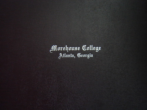Morehouse College degree cover | by LevoisJ