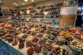 Chocolate, Mercado de la Boquería, Barcelona (Spain), HDR | by marcp_dmoz