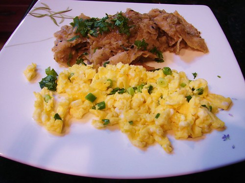 homemade chilaquiles! | The Shifted Librarian | Flickr