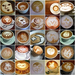 Latte faces | by LHDumes