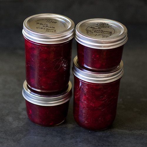 2 kinds of cranberry sauce | by Married with Dinner