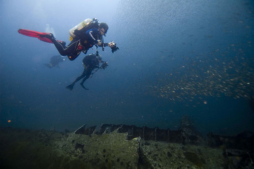 Photographing a German U-boat | by NOAA's National Ocean Service