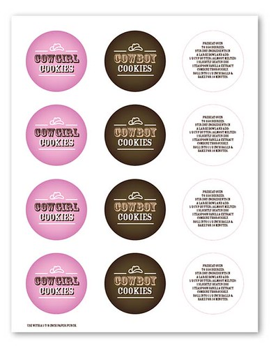 Cookie Jar Labels | by Bakerella
