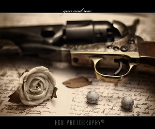 Gun and Rose | by Gat◉studio