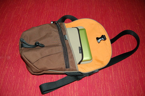 Crumpler Quarfie with Dell Mini 10v inside a Neoprene Sleeve | by Victor Goh
