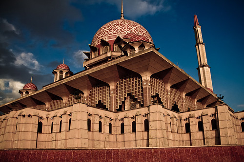 The Putra Mosque in Putrajaya, Malaysia | by sir_mencius