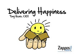 Zappos CEO Presentation (Slide 1) | by sunni.brightspot.brown
