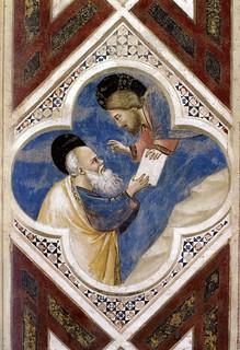 Giotto e bottega mos riceve le tavole della legge padova cappella degli scrovegni navata - Le tavole della legge ...