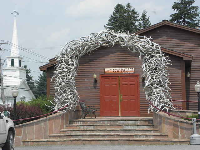 Cow  Palace Elk Antler Arch