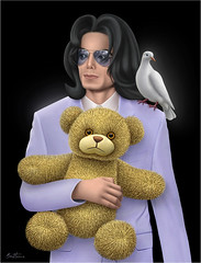 Michael Jackson - The Childhood He Has Never Known | by Ben Heine