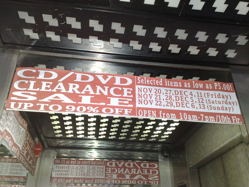 Universal Records' CD/DVD Clearance Sale | by jcmedina