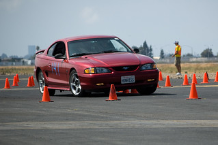 Ford Mustang at the Autocross | by Randy F