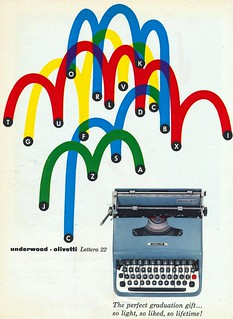 Underwood Olivetti Lettera 22 | by The Cardboard America Archives