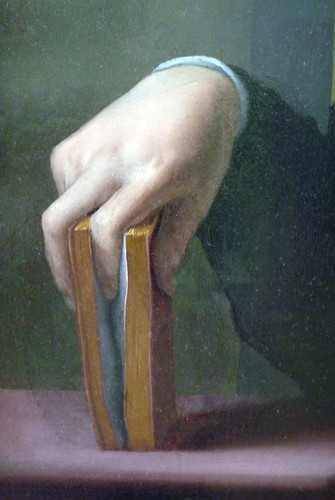 Bronzino, Portrait of a Young Man detail of hand | by profzucker