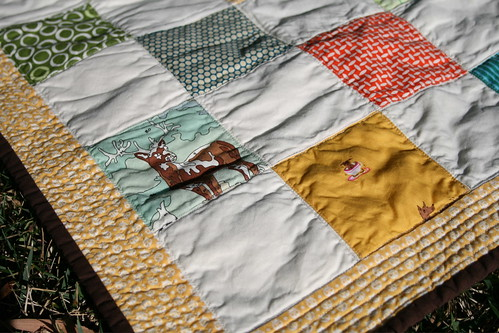 Stroller Quilt close up | by alissahcarlton