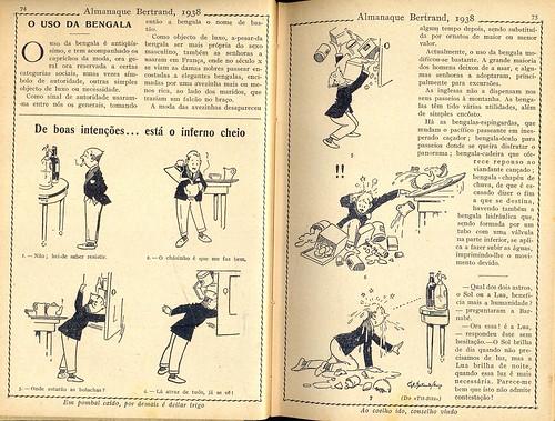 Almanaque Bertrand, 1938 - Good intentions 7