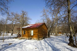 Winter Cabin, Long Forest, Guba, Azerbaijan | by cayman simon