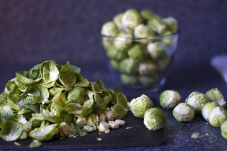 readying the brussels | by smitten kitchen