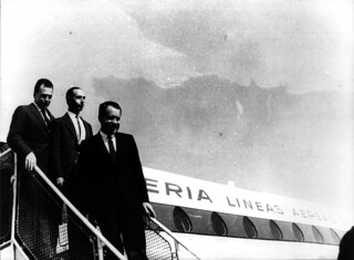 Richard Nixon (1963) | by Iberia Airlines