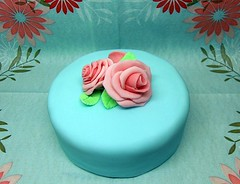 Simple Rose Cake | by purecakes (lizzie)