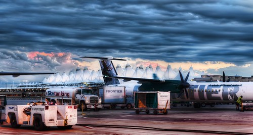 The Blue Storm Over Denver International Airport | by Stuck in Customs