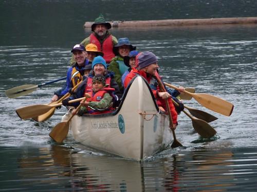 Fully Loaded Big Canoe Photo By Karl Molesworth Flickr