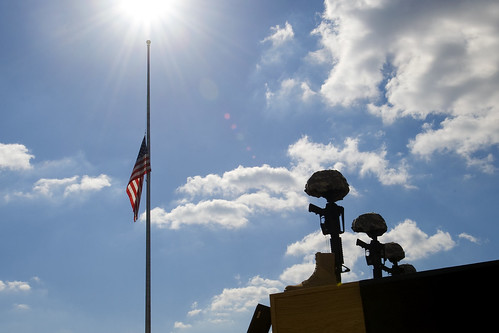 Flags lowered at Fort Hood | by The U.S. Army