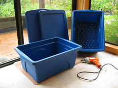 New worm bins (2 of 7) | by Tim Musson