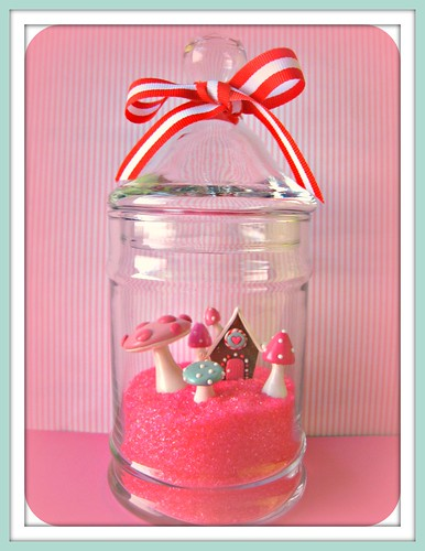 Candyland Terrarium | by Pinks & Needles (used to be Gigi & Big Red)