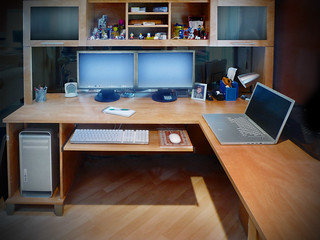 My Desk at Red Rocket Media Group | by Found Photographer