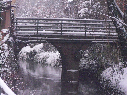 neve sul ponte - snow on the bridge | by caruga2005