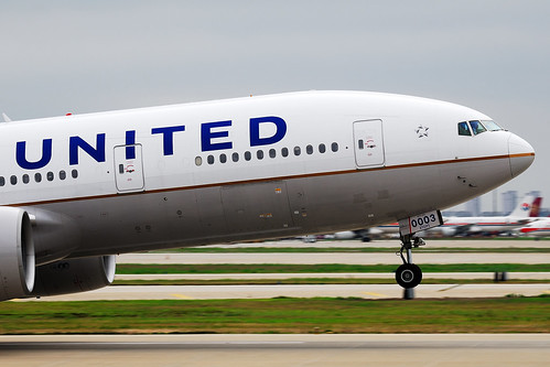 United (Continental) Airlines Boeing 777-224ER nose N78003  MSN 27579 | by Jimmy LWH