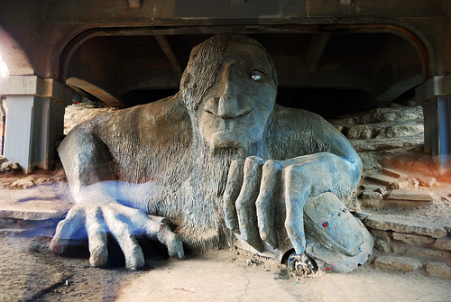 Fremont Troll, Seattle | by WorldofArun