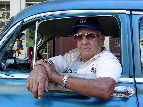 Taxi Driver in Classic Car - Habana Vieja - Havana - Cuba | by Adam Jones, Ph.D. - Global Photo Archive
