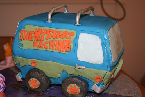 Scooby Doo Mystery Machine Cake | by cmlcampbell