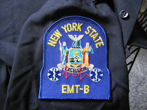 NYS EMT-B Patch | by Scott_Brown
