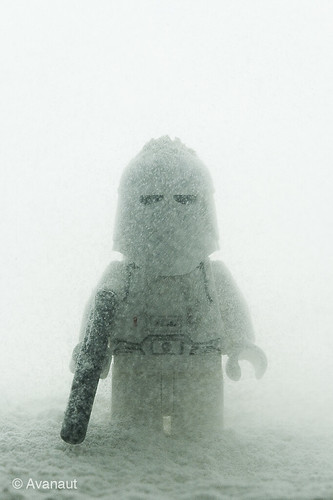 Lego Snowtrooper in, err... Snow. | by Avanaut
