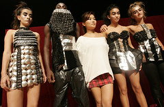TRASHION FASHION SHOW (4 garments as one art piece) | by Jane.Tan